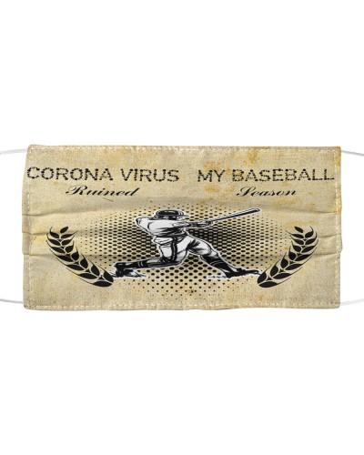 SHN Corona ruined Baseball season Face mask