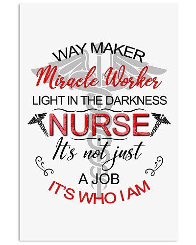 SHN Way maker miracle worker light darkness Nurse