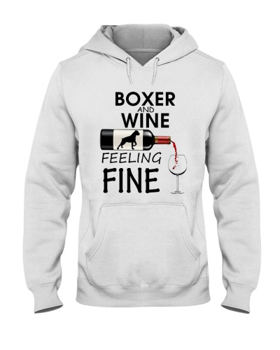 Boxer and Wine