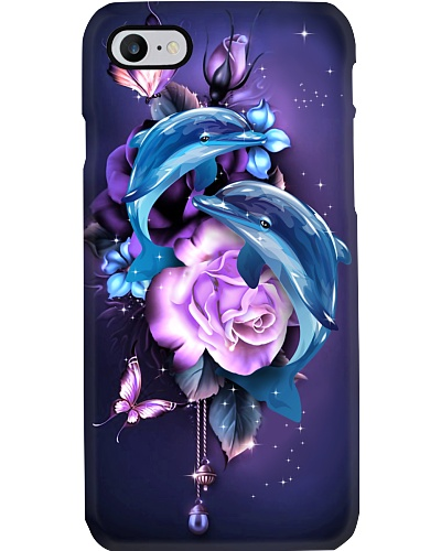 Dolphin magical phone case