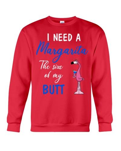 SHN Margarita size my butt Flamingo shirt