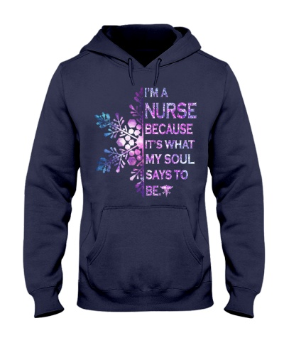 I am a nurse with flower snow shirt