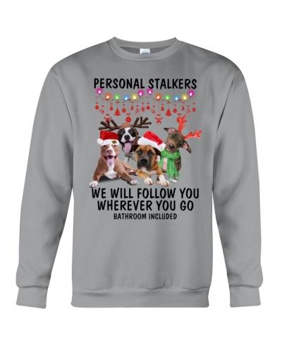 Pitbull christmas personal stalker