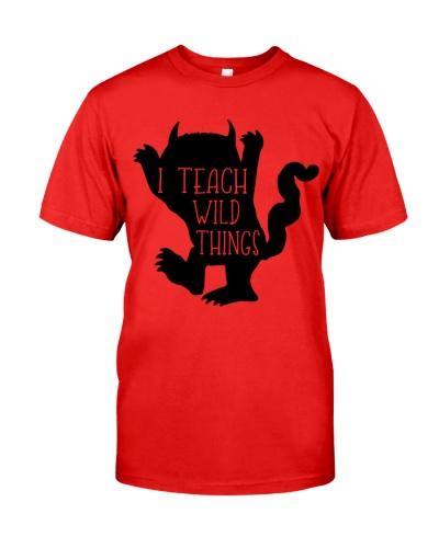 I teach wild things shirt