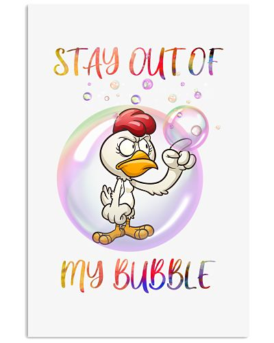 SHN Stay out of my bubble Chicken shirt