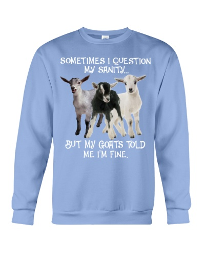 SHN 10 Question my sanity Goat