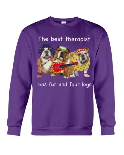 Ln bulldog the best therapist