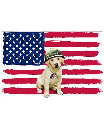 TTN 8 Military Labrador Retriever All Over Shirt