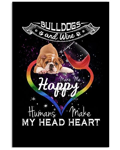 Bulldogs wine make me happy