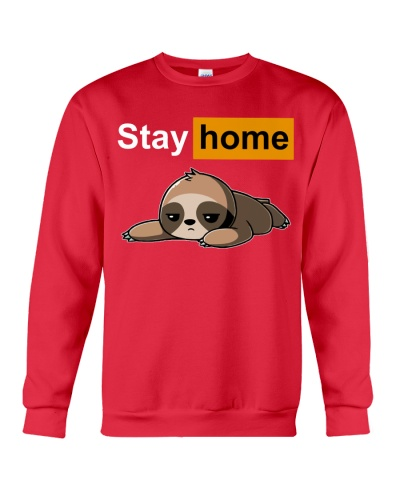 fn sloth stay home shirt