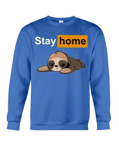 fn sloth stay home shirt