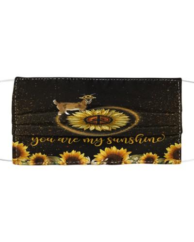 SHN 5 You are my sunshine sunflower Goat