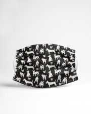 Bull Terrier Mini Dogs Cloth face mask aos-face-mask-lifestyle-22