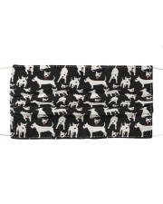 Bull Terrier Mini Dogs Cloth face mask front