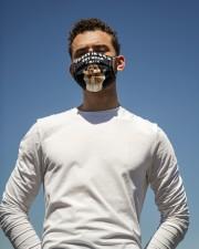 TT Cocker Spaniel Trust In God Cloth face mask aos-face-mask-lifestyle-11