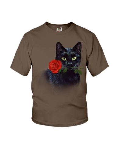 Black cat rose