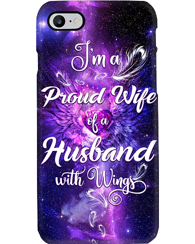 I am a pround wife of husband with wing phone case