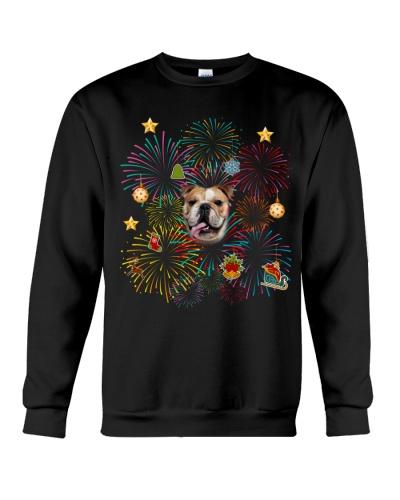 Bulldog happy new year 2020