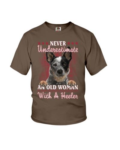 Heeler never underestimate old woman