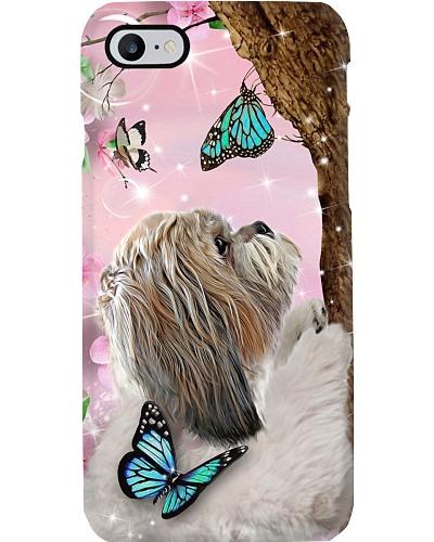 Dt 5 shih tzu love butterfly phone case
