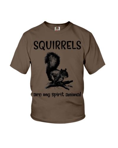 Squirrels are spirit animal