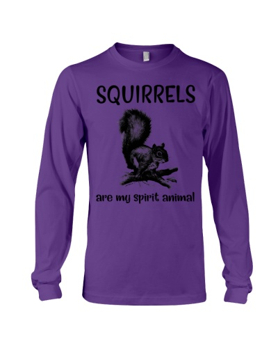 Squirrels are spirit animal