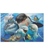 Happy Sea Animals Doormat tile