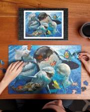 Happy Sea Animals 250 Piece Puzzle (horizontal) aos-jigsaw-puzzle-250-pieces-horizontal-lifestyle-front-11