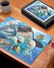 Happy Sea Animals 250 Piece Puzzle (horizontal) aos-jigsaw-puzzle-250-pieces-horizontal-lifestyle-front-27