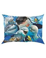 Happy Sea Animals Rectangular Pillowcase tile