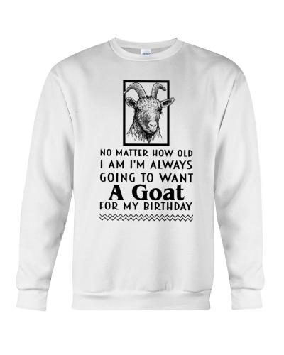 Goat no matter how old i am