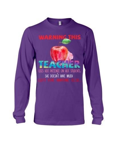 Teacher warning