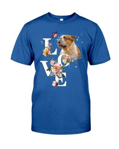 Bulldog flower love