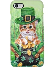 Cat St Patricks Day Phone Case tile