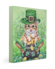 Cat St Patricks Day Gallery Wrapped Canvas Prints tile