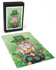 Cat St Patricks Day 250 Piece Puzzle (vertical) aos-jigsaw-puzzle-250-pieces-vertical-front-03
