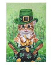 Cat St Patricks Day 250 Piece Puzzle (vertical) front