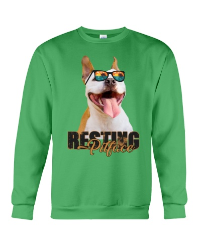Resting Pitface Pitbull Shirt