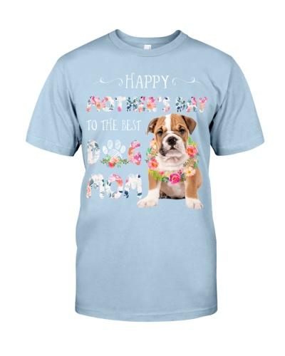 Bulldog happy mothers day
