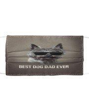 Th 5 Cairn Terrier Best Dog Dad Ever Cloth face mask front