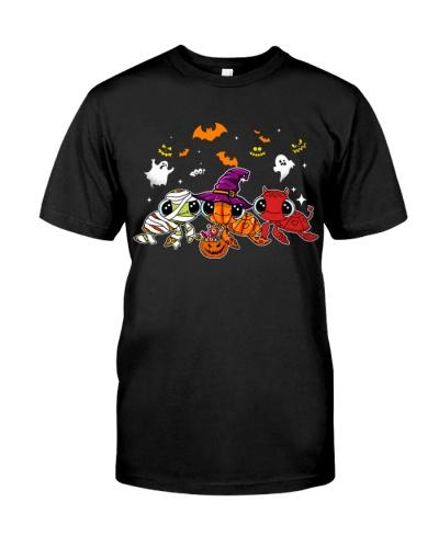 Turtle happy halloween shirt