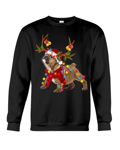 Bulldog gorgeous reindeer