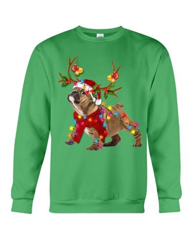 Bulldog gorgeous reindeer