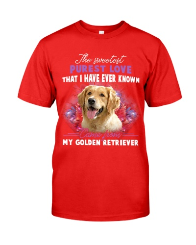 Golden Retriever Sweetest
