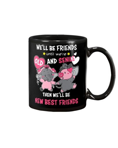 Elephant And Pig Are Good Friend