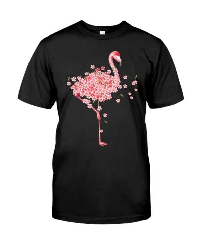 Flamingo Sakura blossom pink one
