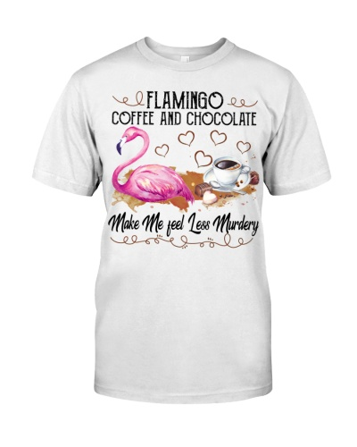 Flamingo coffee and chocolate
