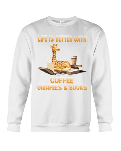 Giraffe book coffee life is better with
