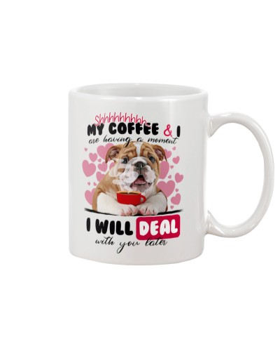 Bulldog will deal with you later mug