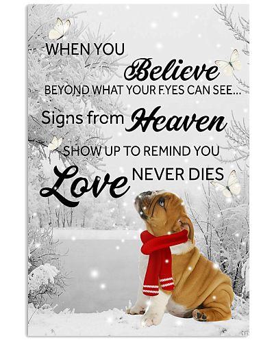Bulldog when you believe